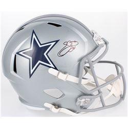 Emmitt Smith Signed Cowboys Full-Size Speed Helmet (Beckett COA  Prova COA)
