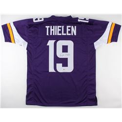 Adam Thielen Signed Vikings Jersey (Beckett COA)