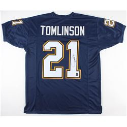 LaDainian Tomlinson Signed Chargers Jersey (JSA COA  Tomlinson Hologram)
