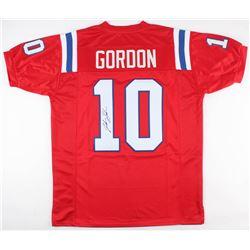 Josh Gordon Signed Patriots Jersey (JSA COA)