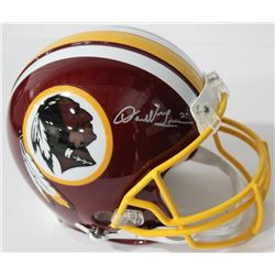 Darrell Green Signed Redskins Authentic On-Field Full-Size Helmet (Beckett COA)