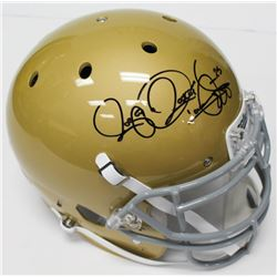 "Raghib ""Rocket"" Ismail Signed Notre Dame Fighting Irish Authentic On- Field Helmet (Beckett COA)"