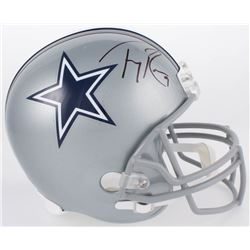 Tony Romo Signed Cowboys Full-Size Helmet (Beckett COA)