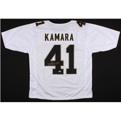 Alvin Kamara Signed Saints Jersey (Beckett COA)