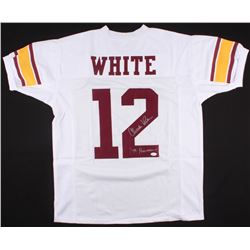 "Charles White Signed USC Trojans Jersey Inscribed ""'79 Heisman"" (JSA COA)"