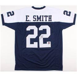 Emmitt Smith Signed Cowboys Jersey (Beckett COA  Prova Hologram)