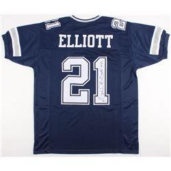 Ezekiel Elliott Signed Cowboys Jersey (Beckett COA)