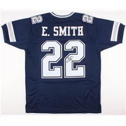 Emmitt Smith Signed Cowboys Jersey (JSA COA  Smith Hologram)