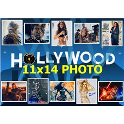 Mystery Ink Hollywood 11x14 Photo Edition! 1 Actor / Actress / Director Signed 11x14 Picture In Ever