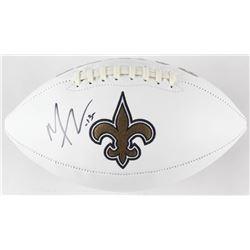 Michael Thomas Signed New Orleans Saints Logo Football (JSA COA)