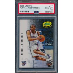 2008 eTopps #17 Russell Westbrook / 699 (PSA 10)