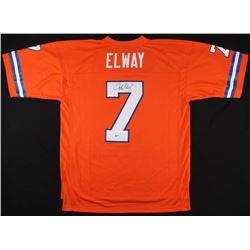 John Elway Signed Broncos Jersey (Beckett COA)
