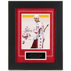 Zdeno Chara Signed Bruins 15.5x19.5 Custom Framed Photo Display (JSA COA)