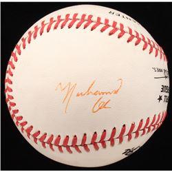 Muhammad Ali Signed ONL Baseball (JSA LOA)