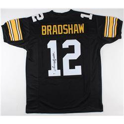 Terry Bradshaw Signed Steelers Jersey (Beckett COA)