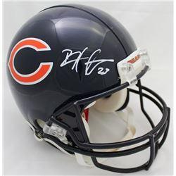 Devin Hester Signed Bears Full-Size Authentic On-Field Helmet (JSA COA)