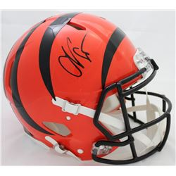 Chad Johnson Signed Bengals Authentic On-Field Full-Size Speed Helmet (Beckett COA)