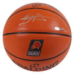 Deandre Ayton Signed LE Suns Logo NBA Game Ball Series Basketball (Game Day Legends COA  Steiner COA