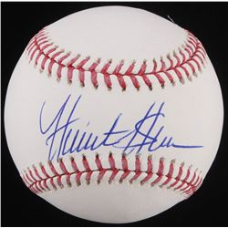 Hunter Greene Signed OML Baseball (Schwartz Sports COA)