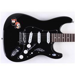 """Cheech Marin  Tommy Chong Signed Cheech  Chong 38"""" Electric Guitar (Beckett COA)"""