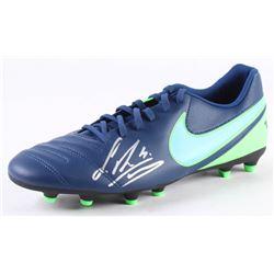 Sergio Ramos Signed Nike Tiempo Soccer Cleat (Beckett COA)