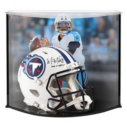 """Marcus Mariota Signed Titans Full-Size Authentic On-Field Speed Helmet Inscribed """"2015 1st RD Pick"""""""
