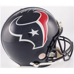 DeAndre Hopkins Signed Texans Full-Size Authentic On-Field Helmet (JSA COA)