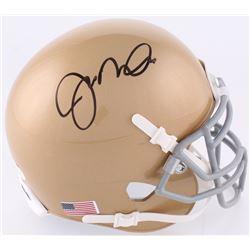 Joe Montana Signed Notre Dame Fighting Irish Mini-Helmet (JSA COA)