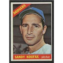 1966 Topps #100 Sandy Koufax