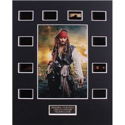 """""""Pirates of the Caribbean"""" Limited Edition Original Film/Movie Cell Display"""
