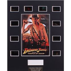 """""""Indiana Jones and the Temple of Doom"""" Limited Edition Original Film/Movie Cell Display"""