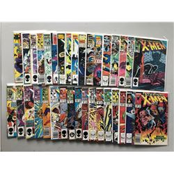 Lot of (70) 1981-1996 Marvel Uncanny X-Men 1st Series Comic Books