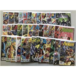 Lot of (61) 1997-2004 3rd Series Marvel Avengers Comic Books