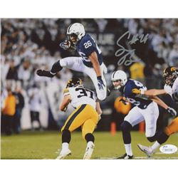 Saquon Barkley Signed Penn State Nittany Lions 8x10 Photo (JSA COA)