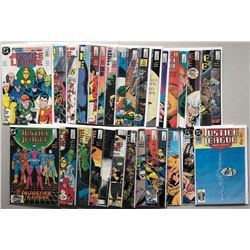 Lot of (61) DC Annual Special Justice League America Comic Books