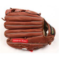 Greg Maddux Signed Wilson Baseball Glove (JSA COA)