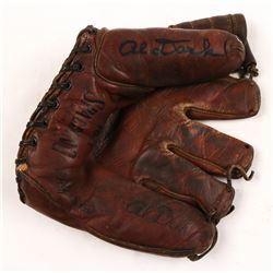Alvin Dark Signed Vintage Spalding Baseball Glove (JSA COA)