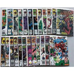 Lot of (24) 1987-91 Marvel Amazing Spider-Man 1st Series Comic Books
