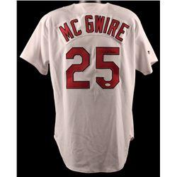 Mark McGwire Signed Cardinals Russell Jersey (JSA LOA)
