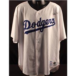 Hideo Nomo Signed Dodgers Russell Jersey (JSA LOA)