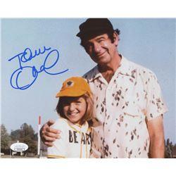 "Tatum O'Neal Signed ""The Bad News Bears"" 8x10 Photo (JSA COA)"