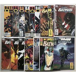 Lot of (39) 1995-1997 DC Batman Comic Books