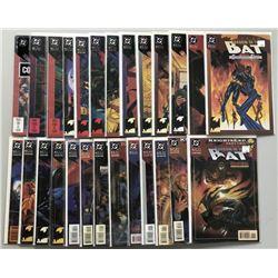 Lot of (51) 1992 DC Batman Shadow of the Bat Comic Books