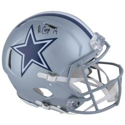 Amari Cooper Signed Cowboys Full-Size Authentic On-Field Speed Helmet (Fanatics Hologram)