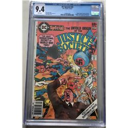 1968 DC Justice Society #29 Comic Book (CGC 9.4)