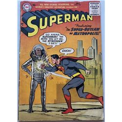 1956 DC Superman #106 1st Volume Comic Book