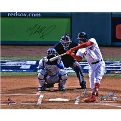 "Mookie Betts Signed Red Sox ""World Series"" 16x20 Photo (Fanatics Hologram  MLB Hologram)"