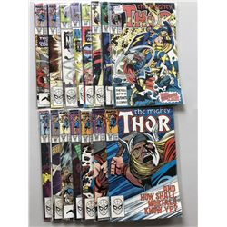 Lot of (33) Marvel Thor 1st Series Comic Books