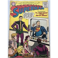 1956 DC Superman #104 1st Volume Comic Book