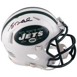 Sam Darnold Signed Jets Mini Helmet (Fanatics Hologram)